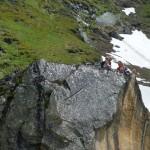 und stolze Bergsteiger