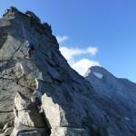 Der Aufstieg über den Schrammachergrad ist eine schöne Herausforderung.