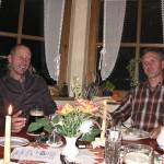 Ferdl und Gerhard - topfit nach einem langen Tag.